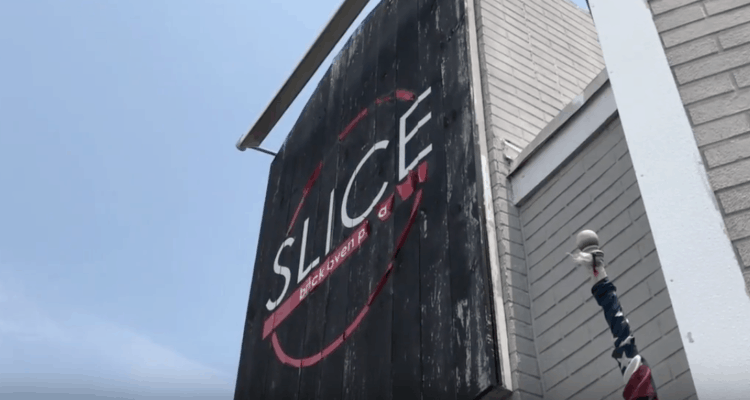 Slice Pizza Building Up For Rent!