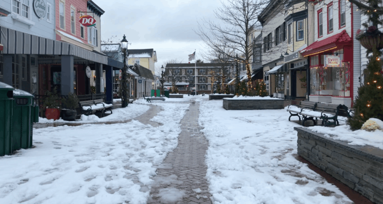 Cape May In The Snow