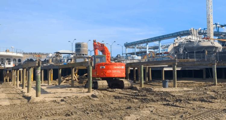 Surfside Pier Gets Reinforced