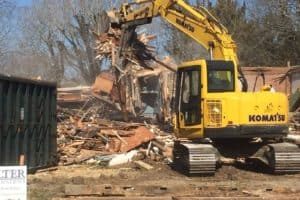 Historical Cape May House Knocked Down