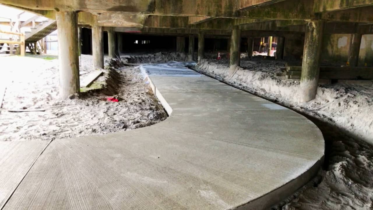 NEW Under The Boardwalk Walkway
