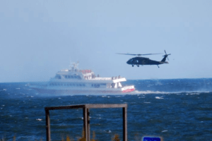 Military Helicopters Are Training In Cape May