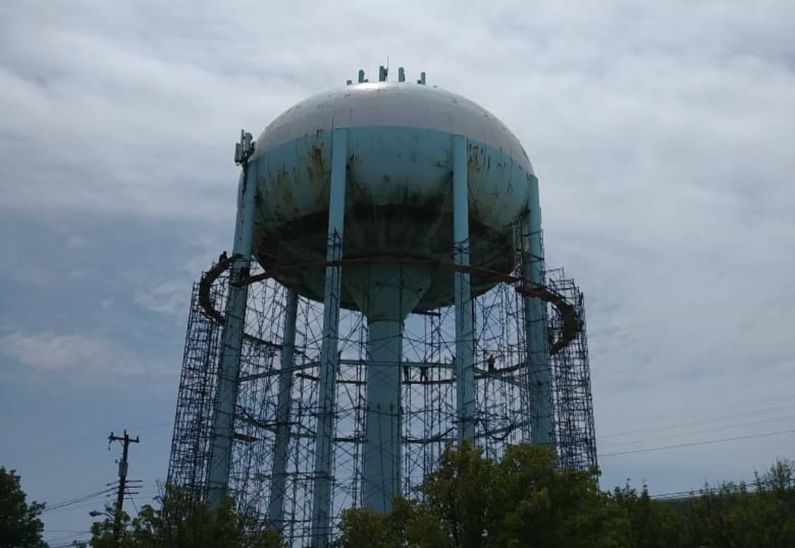 Wildwood Water Tower Get's A Make-Over