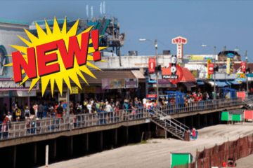 NEW on the Wildwood Boardwalk 2019