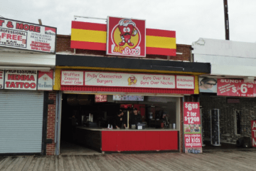 Please Welcome Mr. Gyro to The Wildwood Boardwalk!