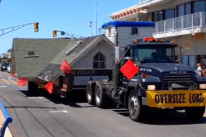 Historic House Moves To Cape May!