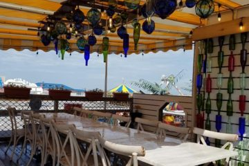 The Secret Dining Area At Morey's Piers