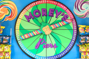 NEW State of the Art Candy Wheel at Moreys Piers