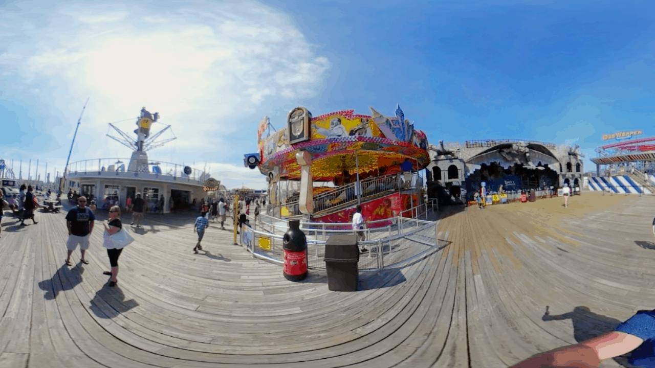 Surfside Pier in 360 - May 2019