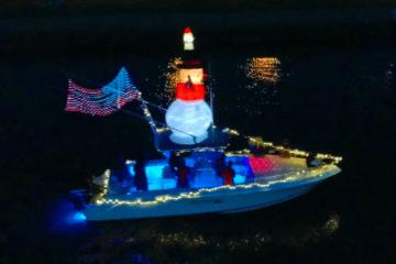 Christmas In July Boat Parade Recap Video