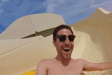 Riding Raging Waters' Sky Pond