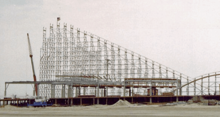 The Great White Being Built