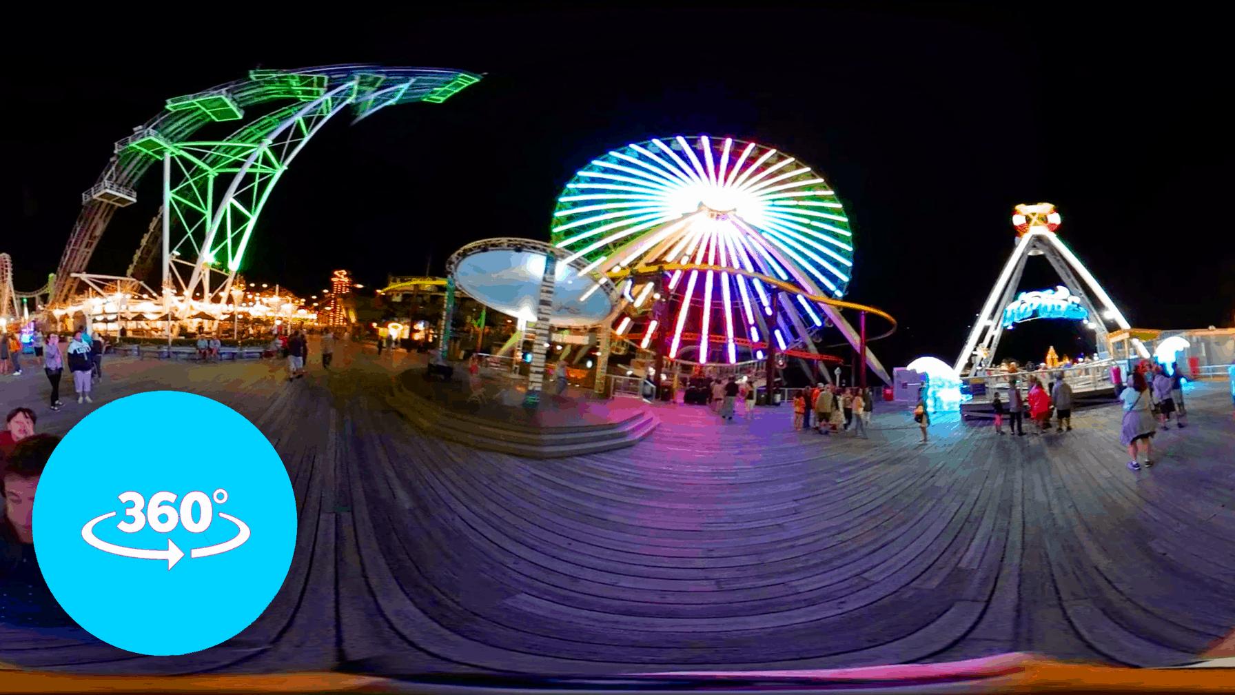 Morey's Mariner's Pier Tour in 360