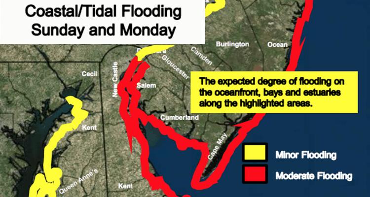 Flooding Expected Sunday Into Monday