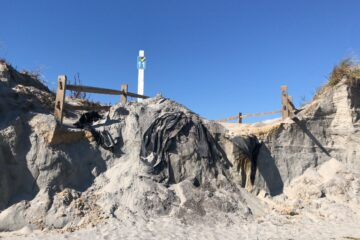 The 11th Street Cliffs In North Wildwood