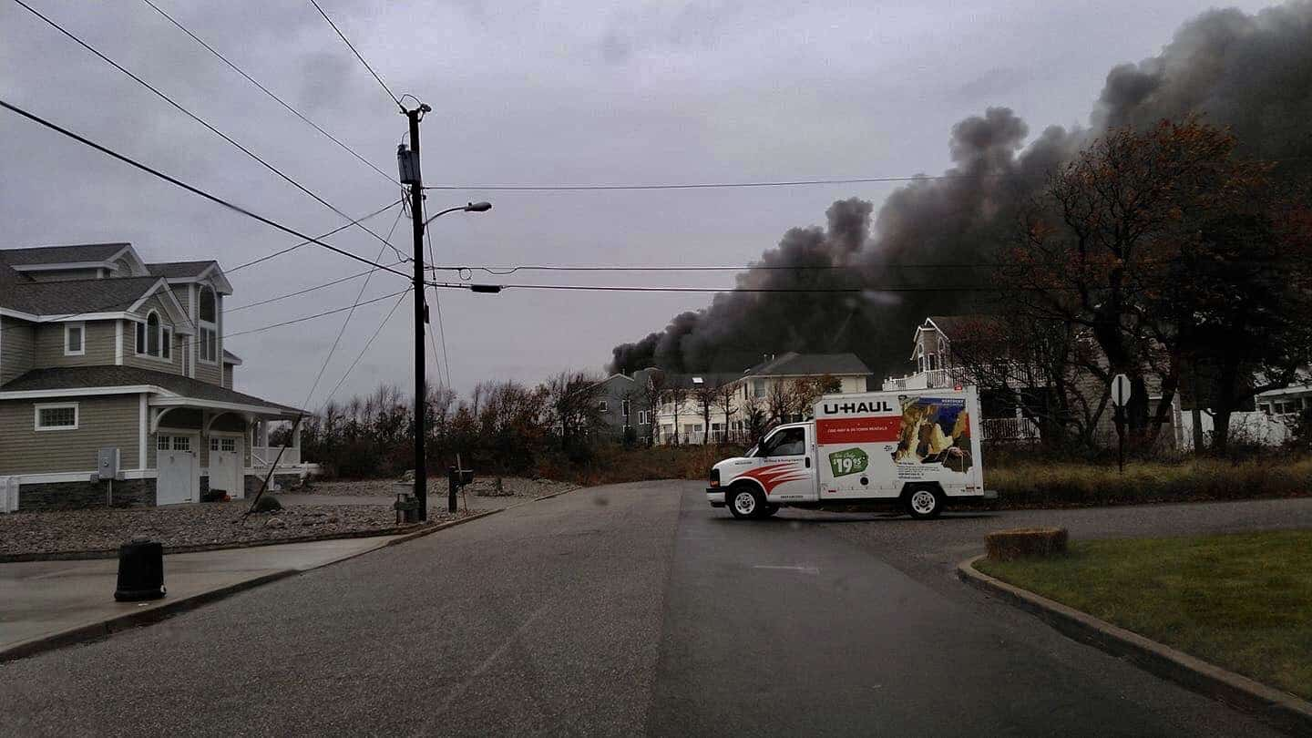 2-Alarm Fire Reported In Cape May County