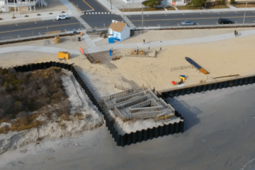 North Wildwood Bulkhead Project Underway