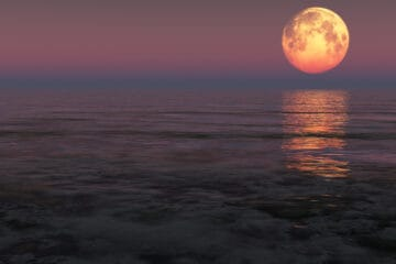 A Snow Moon Will Light Up South Jersey