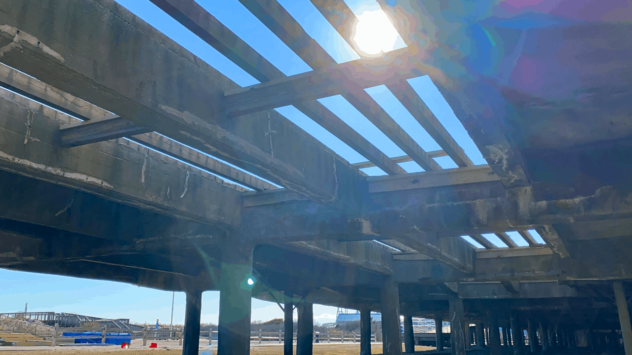 Repairing The Wildwood Boardwalk