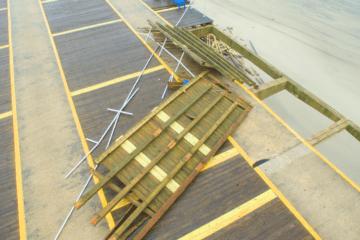 Wildwood Boardwalk Damage Via Drone
