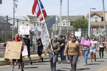 Wildwood Protest Goes Peacefully