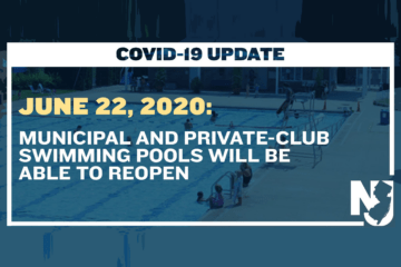 NJ Municipal And private-club Swimming Pools Opening Date Announced