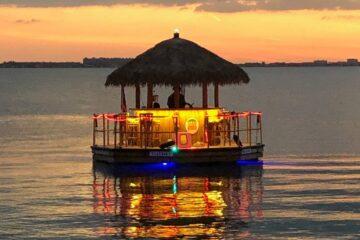 Sea Isle's Tiki Boat