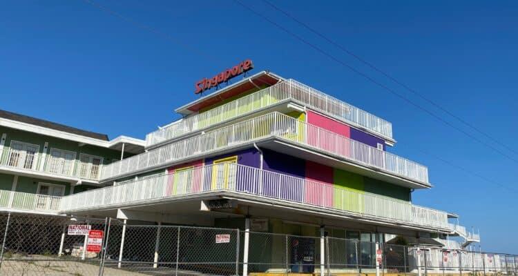 Wildwood Crest Beachfront Motel SOLD