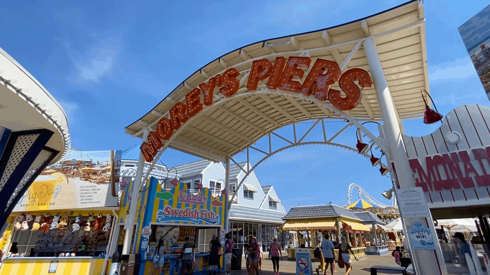 Touring Morey's Mariner Pier 2020
