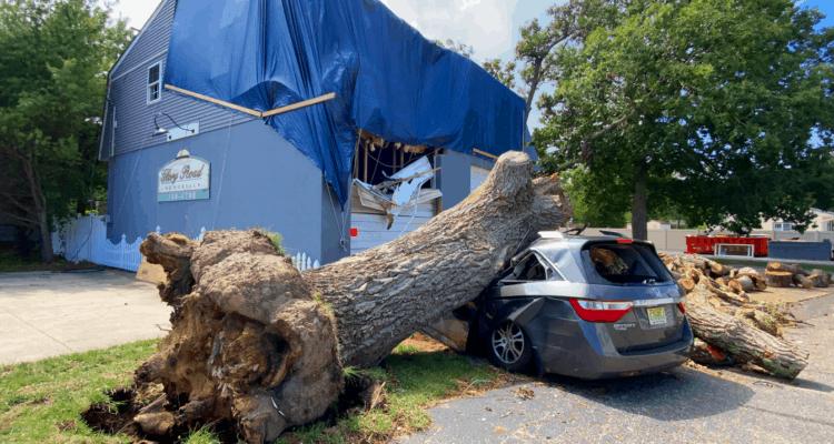 New Jersey Tornado Damage Tour (+Drone)