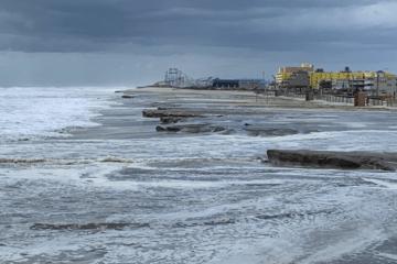 North Wildwood Beaches Get Hit Hard!