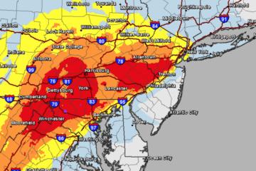 NJ Snow Storm Update - morning