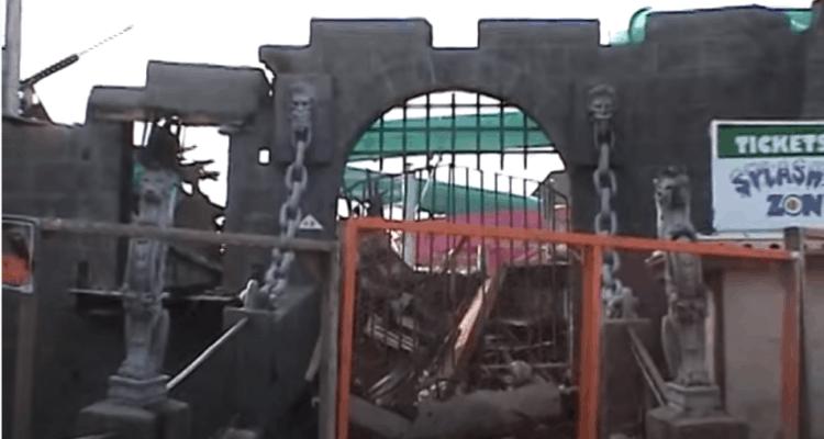 Castle Dracula Pre-Demolition Footage