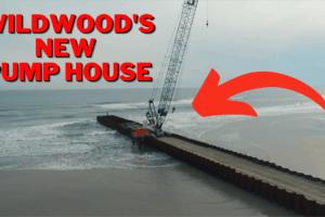 Wildwood's New Beach Pump Station