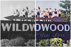 Colorized Historical Wildwood Photos - Part 1