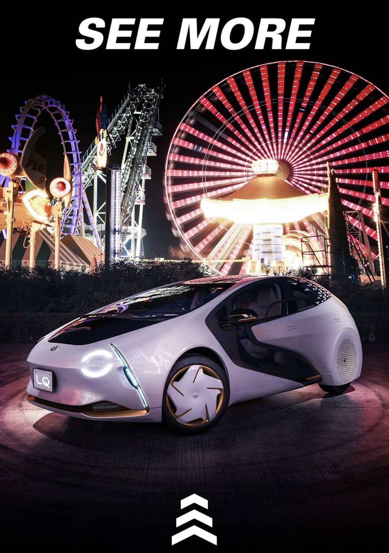 Toyota Features Morey's Piers in Ad for New Car
