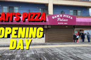Sam's Pizza Opening Day Recap