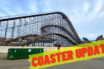 Great White Coaster Re-Track Update