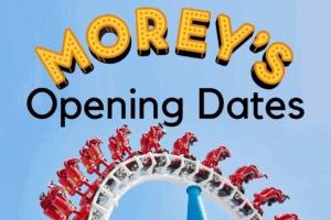 Morey's Piers 2021 Opening Dates