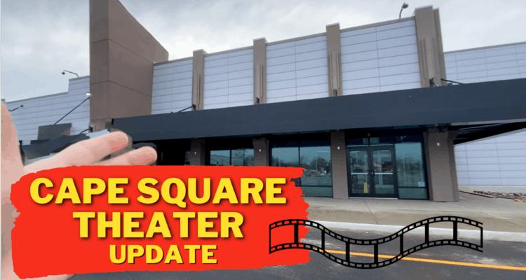 Cape Square Theater Construction Video Update