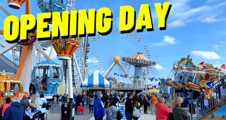 Morey's Piers Opening Day 2021