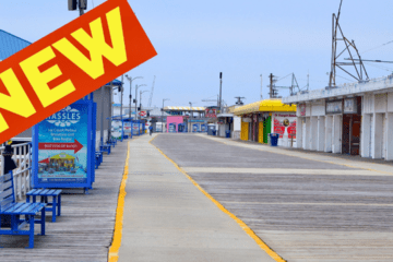New On The Wildwood Boardwalk 2021