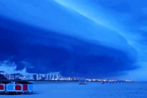 Crazy Wildwood Storm-Cloud Photos