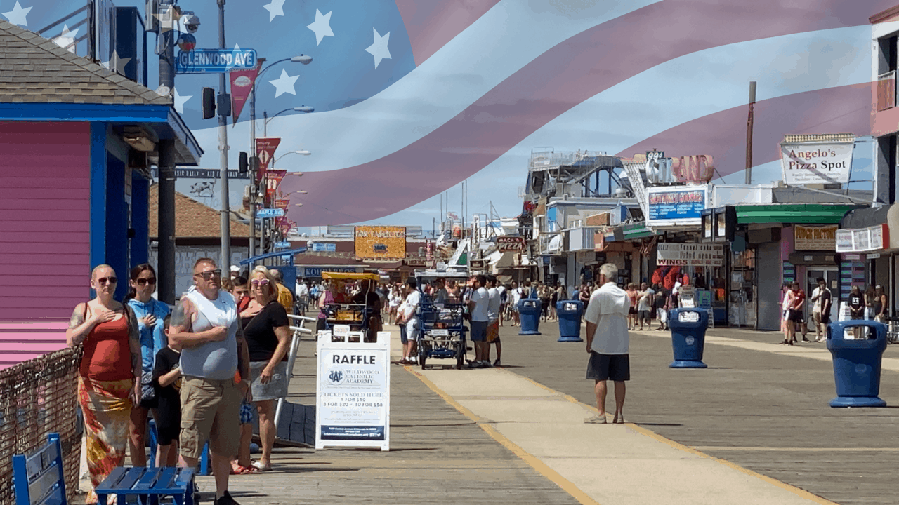 The Wildwoods Play The National Anthem Daily