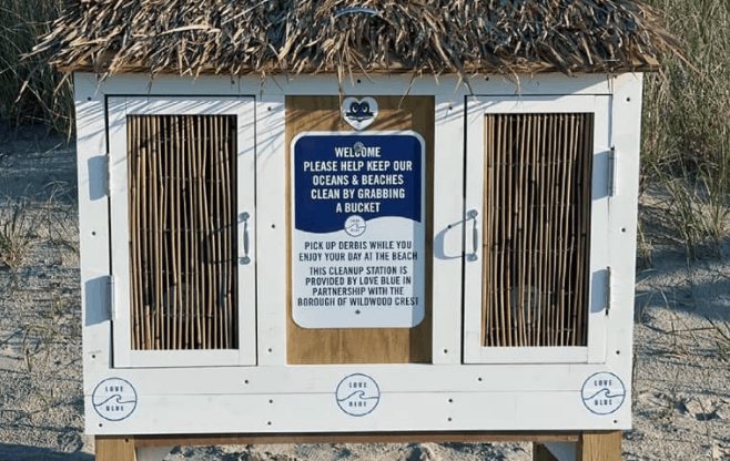 Public Cleanup Station Now Open in Wildwood Crest