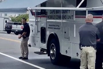 Cape May County Command Center Called to N. Wildwood