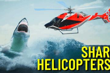 Wildwood Shark Helicopters?
