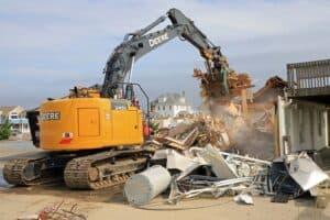 Stone Harbor Beach Patrol Building Demolished