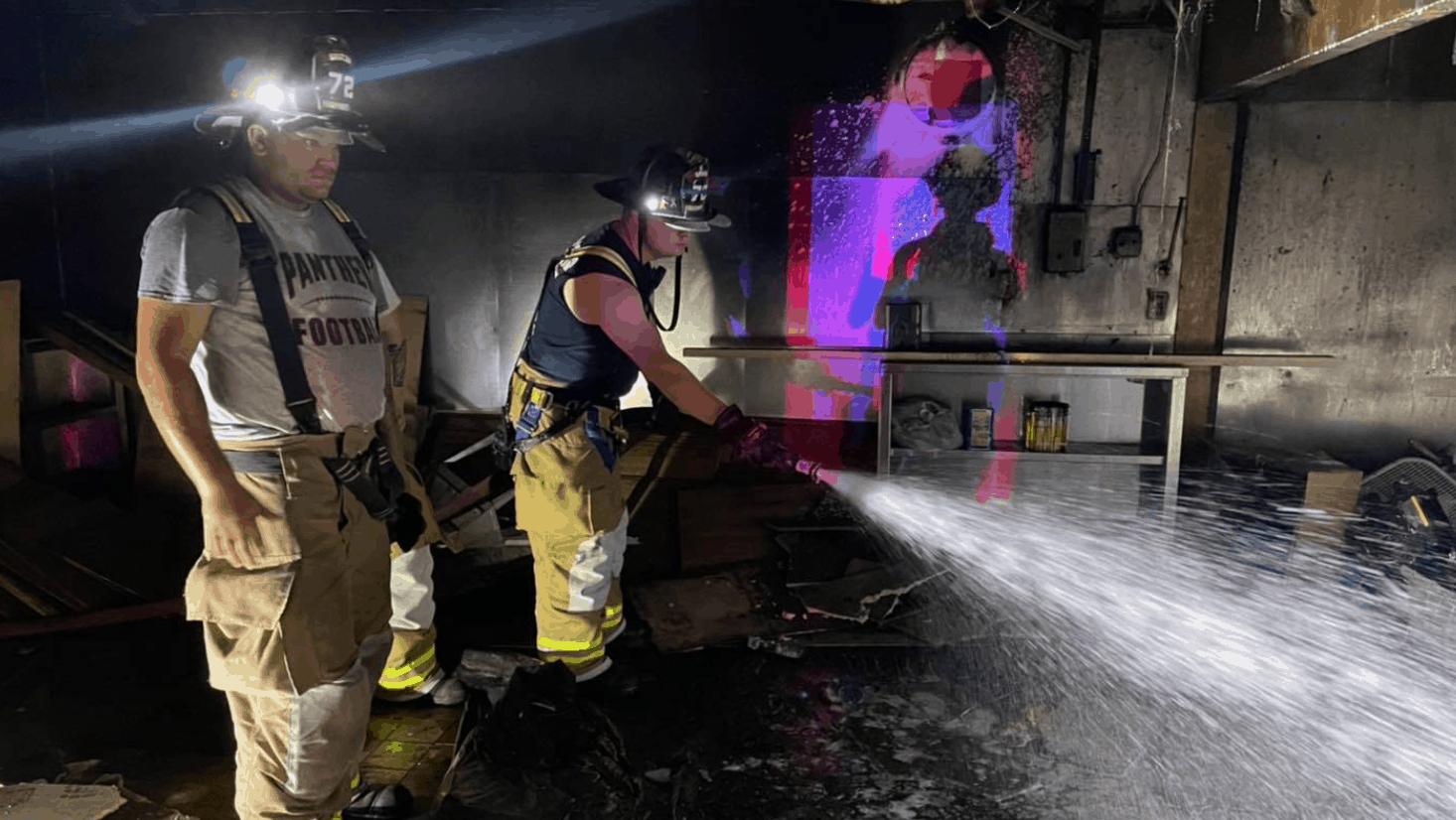 Rio Grande Restaurant Catches Fire