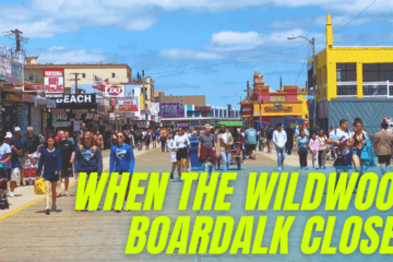 When Does The Wildwood Boardwalk Close For The Season